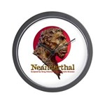 Neanderthal Wall Clock