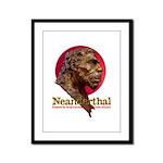 Neanderthal Framed Panel Print