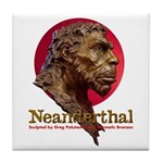 Neanderthal Tile Coaster