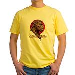 Neanderthal Yellow T-Shirt