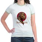 Neanderthal Jr. Ringer T-Shirt