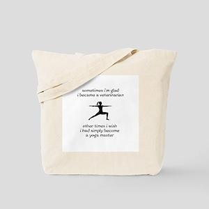Vet Yoga Master Tote Bag