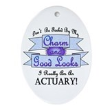 Actuarial Oval Ornaments