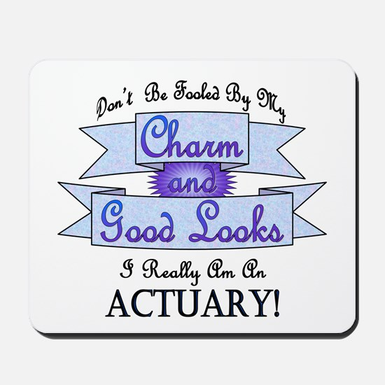 Actuary Really Mousepad