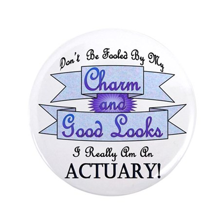 "Actuary Really 3.5"" Button (100 pack)"