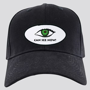 Eye Can See Black Cap