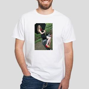 Human Pony White T-Shirt