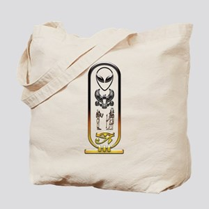 Alien-Egyptian Cartouche 10 Tote Bag