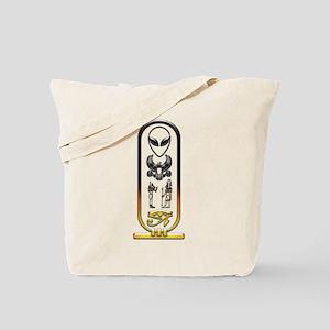 Alien-Egyptian Cartouche 10 Tote Bag