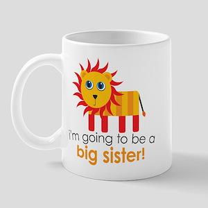 Big Sister To Be Lion Mug
