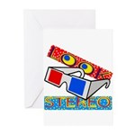 Anaglyph Greeting Cards (Pk of 10)