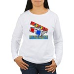 Anaglyph Women's Long Sleeve T-Shirt