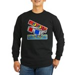 Anaglyph Long Sleeve Dark T-Shirt
