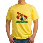Anaglyph Yellow T-Shirt