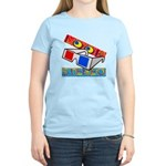 Anaglyph Women's Light T-Shirt