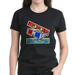 Anaglyph Women's Dark T-Shirt