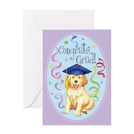 Golden Graduate Greeting Card