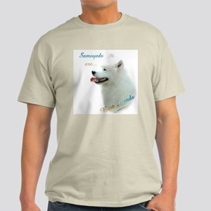 Samoyed Best Friend 1 Light T-Shirt