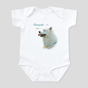 Samoyed Best Friend 1 Infant Bodysuit