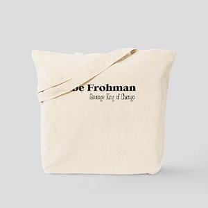 Sausage King black text Tote Bag