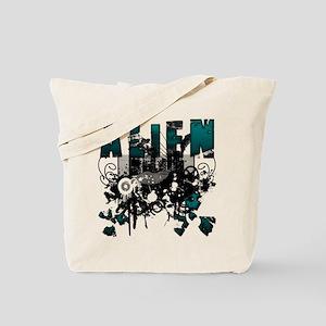 Alien Vector Design 1 Tote Bag