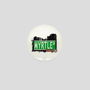 MYRTLE AV, BROOKLYN, NYC Mini Button