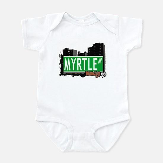 MYRTLE AV, BROOKLYN, NYC Infant Bodysuit