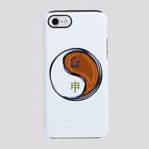 Libra & Wood Monkey iPhone 8/7 Tough Case