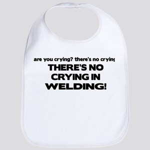 There's No Crying Welding Bib