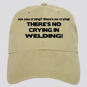 There's No Crying Welding Cap