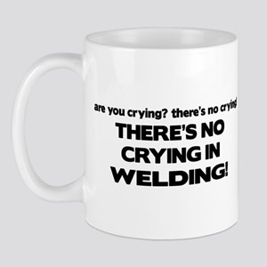 There's No Crying Welding Mug
