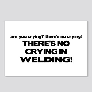 There's No Crying Welding Postcards (Package of 8)