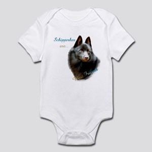 Schipperke Best Friend 1 Infant Bodysuit