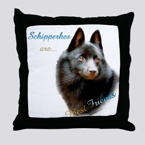 Schipperke Best Friend 1 Throw Pillow