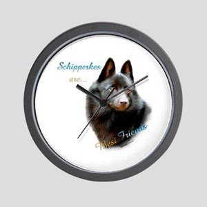 Schipperke Best Friend 1 Wall Clock