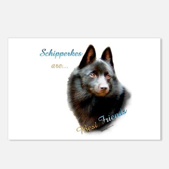 Schipperke Best Friend 1 Postcards (Package of 8)