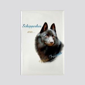 Schipperke Best Friend 1 Rectangle Magnet