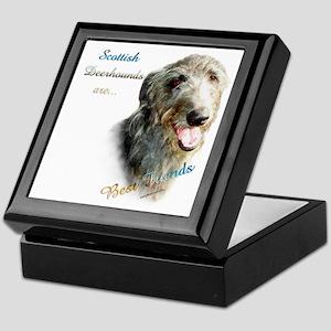 Deerhound Best Friend 1 Keepsake Box