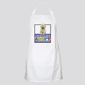 Adopt a Mutt BBQ Apron