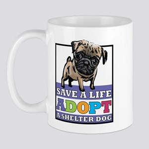 Adopt a Pug Mug