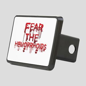 Fear Rectangular Hitch Cover