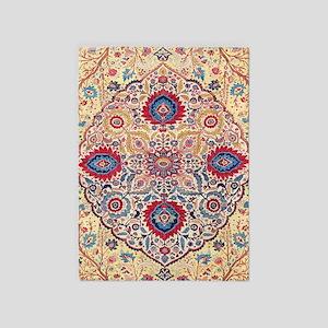 Tabriz Persian Carpet 5'x7'area Rug
