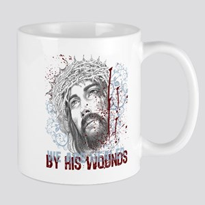 By His Wounds Mug