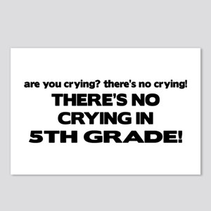 There's No Crying 5th Grade Postcards (Package of