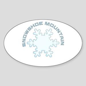 Snowshoe Mountain - Snowshoe - West Virg Sticker