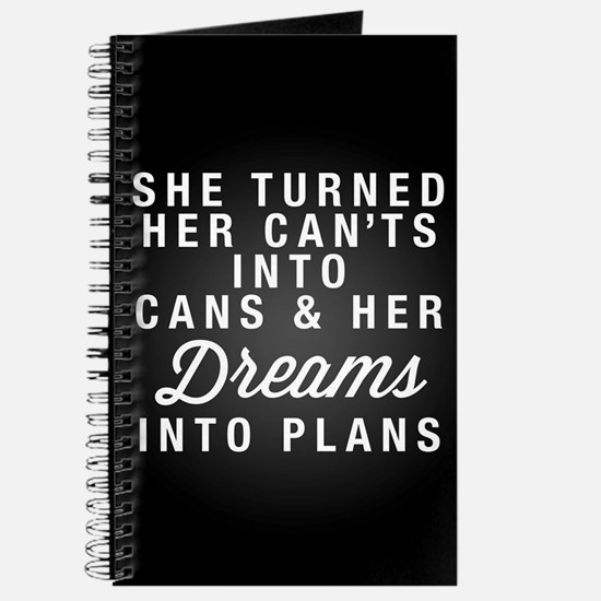 Dreams into Plans Journal