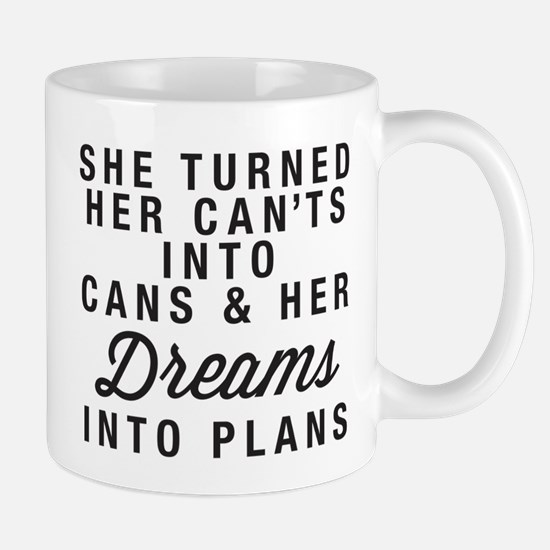Dreams into Plans Mug