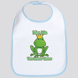 You Never Know Frog Bib