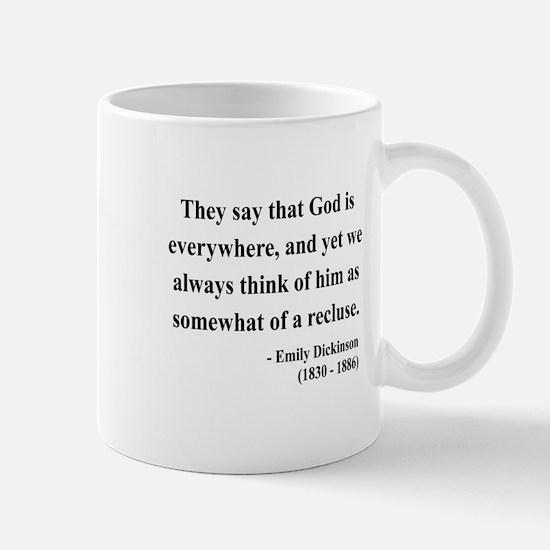 Emily Dickinson 16 Mug