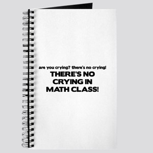 There's No Crying Math Class Journal